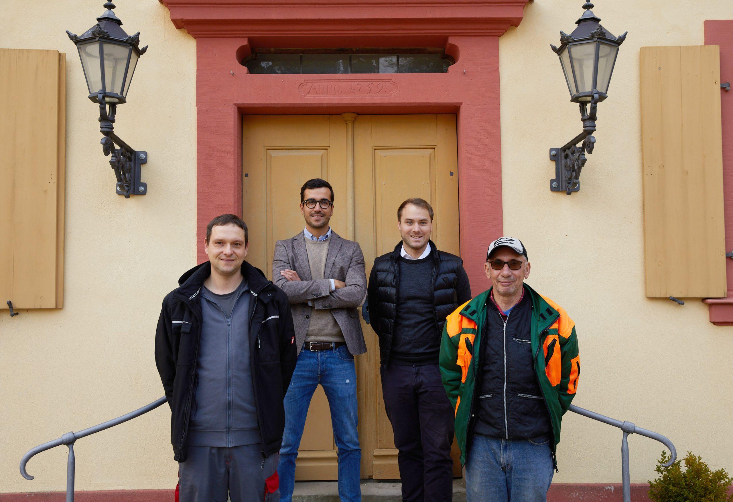 Das Team von Schloß Frankenberg