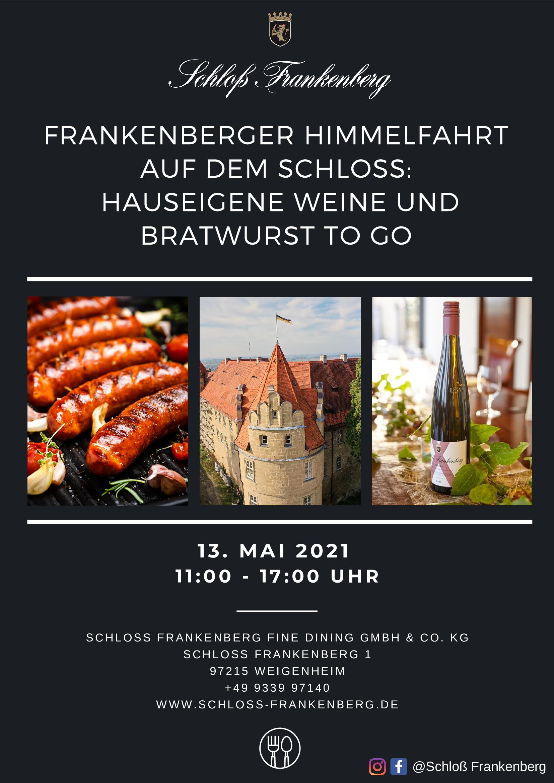 Flyer Christi Himmelfahrt 2021 Schloß Frankenberg